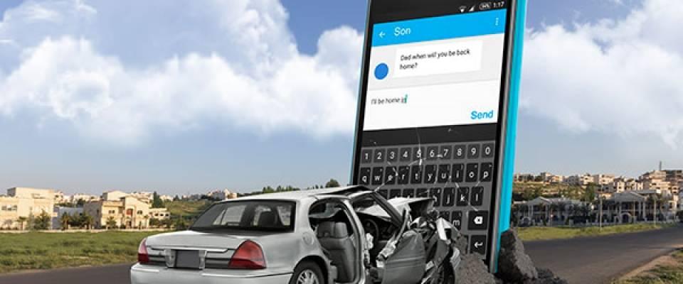 El uso del móvil al volante, gran amenaza para la seguridad vial